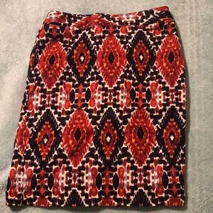 Chic patterned Pencil skirt